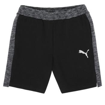 Kleidung Jungen Shorts / Bermudas Puma EVOSTRIPE SHORTS Schwarz