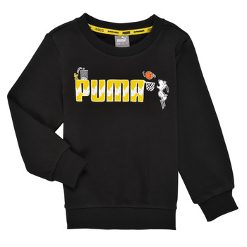 Kleidung Jungen Sweatshirts Puma SNOOPY PEANUTS CREW Schwarz