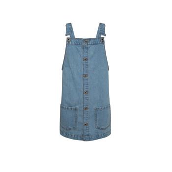 Kleidung Mädchen Kurze Kleider Pepe jeans CHICAGO PINAFORE Blau
