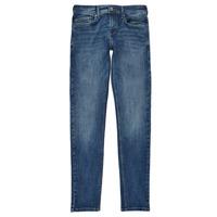 Kleidung Jungen Röhrenjeans Pepe jeans FINLY Blau