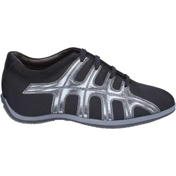 Schuhe Damen Sneaker Hogan Sneakers Textil Schwarz