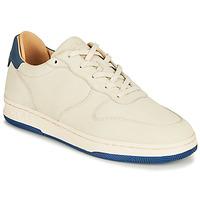 Schuhe Sneaker Low Clae MALONE Beige / Blau