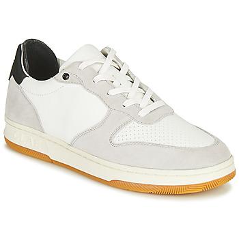 Schuhe Sneaker Low Clae MALONE Weiss / Grau