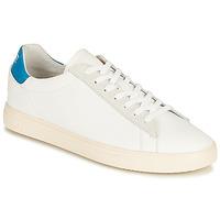 Schuhe Sneaker Low Clae BRADLEY CALIFORNIA Weiss / Blau