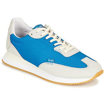 Schuhe Sneaker Low Clae RUNYON Blau / Grau