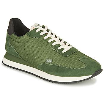 Schuhe Herren Sneaker Low Clae RUNYON Grün