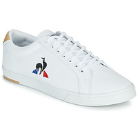 Schuhe Herren Sneaker Low Le Coq Sportif VERDON II Weiss / Braun