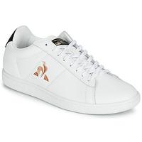 Schuhe Damen Sneaker Low Le Coq Sportif COURTSET Weiss / Schwarz