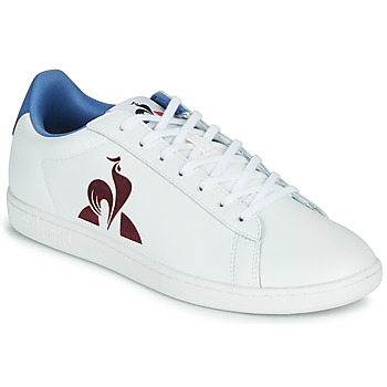 Schuhe Herren Sneaker Low Le Coq Sportif MASTER COURT Weiss / Blau
