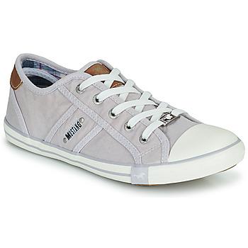 Schuhe Damen Sneaker Low Mustang NATHALIA Violett