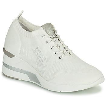 Schuhe Damen Sneaker High Mustang THALIA Weiss