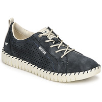 Schuhe Damen Sneaker Low Mustang NINA Marine