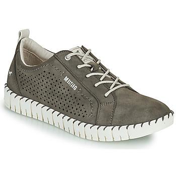 Schuhe Damen Sneaker Low Mustang NINA Grau