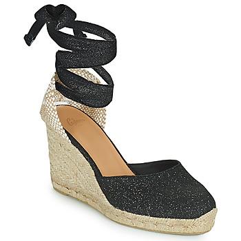 Schuhe Damen Sandalen / Sandaletten Castaner CARINA Schwarz / Gold