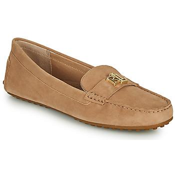 Schuhe Damen Slipper Lauren Ralph Lauren BARNSBURY FLATS CASUAL Beige