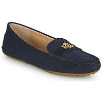 Schuhe Damen Slipper Lauren Ralph Lauren BARNSBURY FLATS CASUAL Marine