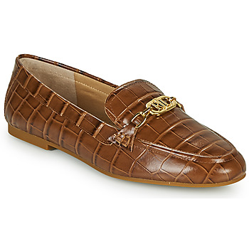 Schuhe Damen Slipper Lauren Ralph Lauren AVERI Cognac