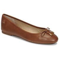 Schuhe Damen Ballerinas Lauren Ralph Lauren JAYNA Cognac