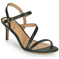 Schuhe Damen Sandalen / Sandaletten Lauren Ralph Lauren LANDYN Schwarz