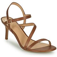 Schuhe Damen Sandalen / Sandaletten Lauren Ralph Lauren LANDYN Cognac