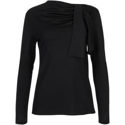 Kleidung Damen Tops / Blusen Lisca Langärmeliges Top Giselle schwarz Perlschwarz