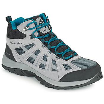 Schuhe Herren Wanderschuhe Columbia REDMOND III MID WATERPROOF Grau