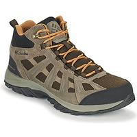 Schuhe Herren Wanderschuhe Columbia REDMOND III MID WATERPROOF Braun