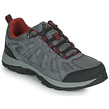 Schuhe Herren Wanderschuhe Columbia REDMOND III WATERPROOF Grau