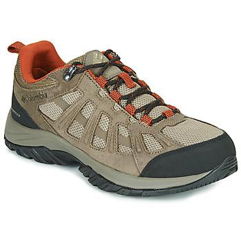 Schuhe Herren Wanderschuhe Columbia REDMOND III WATERPROOF Braun