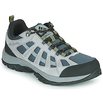 Schuhe Herren Wanderschuhe Columbia REDMOND III Grau