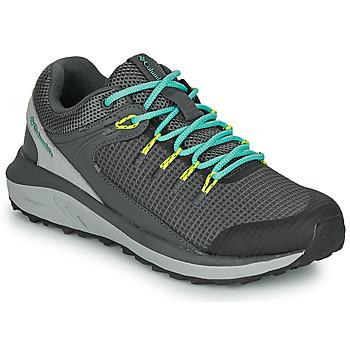 Schuhe Damen Wanderschuhe Columbia TRAILSTORM WATERPROOF Grau