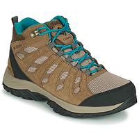 Schuhe Damen Wanderschuhe Columbia REDMOND III MID WATERPROOF Beige