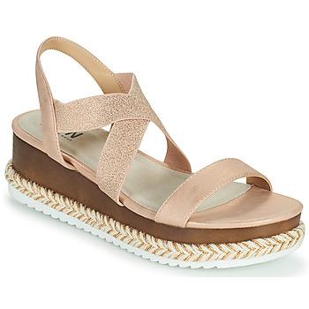 Schuhe Damen Sandalen / Sandaletten Elue par nous JELLYA Rose / Silbern