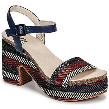 Schuhe Damen Sandalen / Sandaletten Elue par nous JOKARY Blau