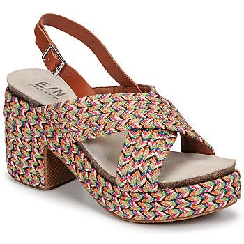 Schuhe Damen Sandalen / Sandaletten Elue par nous JOMARIN Beige