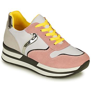 Schuhe Damen Sneaker Low Elue par nous JORONA Rose