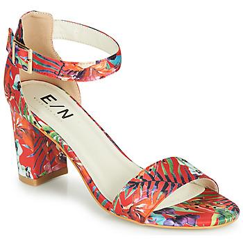 Schuhe Damen Sandalen / Sandaletten Elue par nous JOUAL Rot