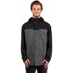 Kleidung Herren Jacken Burton GORETEX PACKRITE SHACKET JACKET TRUE BLACK/PAVEMENT