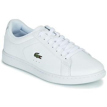 Schuhe Damen Sneaker Low Lacoste CARNABY EVO BL 21 1 SFA Weiss