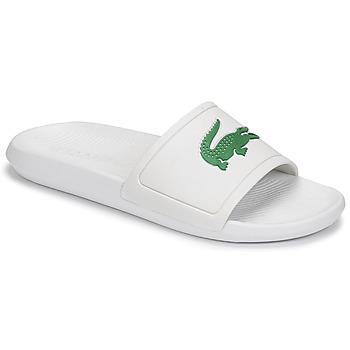 Schuhe Herren Pantoletten Lacoste CROCO SLIDE 119 1 CMA Weiss / Grün