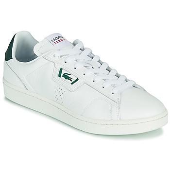 Schuhe Herren Sneaker Low Lacoste MASTERS CLASSIC 07211 SMA Weiss / Grün