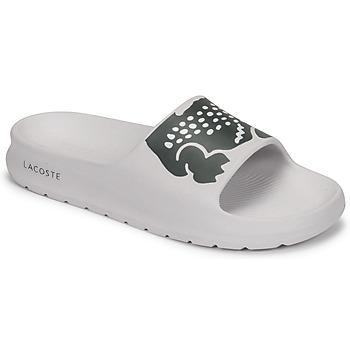 Schuhe Damen Pantoletten Lacoste CROCO 2.0 0721 1 CFA Weiss / Schwarz