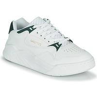 Schuhe Damen Sneaker Low Lacoste COURT SLAM 0721 1 SFA Weiss / Grün