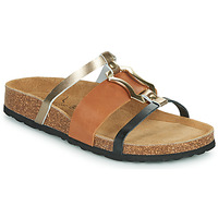 Schuhe Damen Pantoffel Metamorf'Ose JA Braun