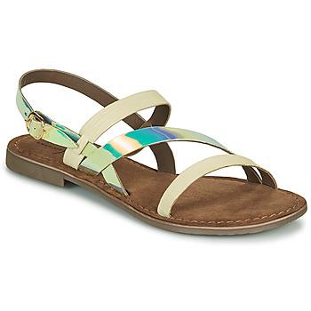 Schuhe Damen Sandalen / Sandaletten Metamorf'Ose JALADIN Weiss