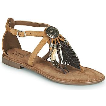 Schuhe Damen Sandalen / Sandaletten Metamorf'Ose JALAP Beige