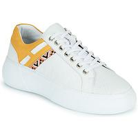 Schuhe Damen Sneaker Low Metamorf'Ose JANINA Gelb