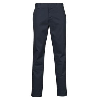 Kleidung Herren 5-Pocket-Hosen Dickies SLIM FIT WORK PNT Marine