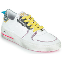 Schuhe Damen Sneaker Low Semerdjian SONA Weiss / Silbern