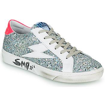 Schuhe Damen Sneaker Low Semerdjian CATRI Silbern / Rose